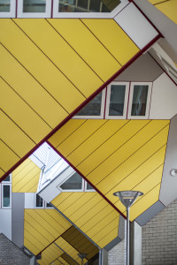 Kubuswoningen, Rotterdam, Piet Blom, Architecture